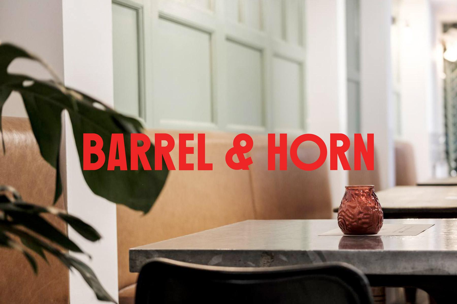 Barrel & Horn – Studio AS-CC