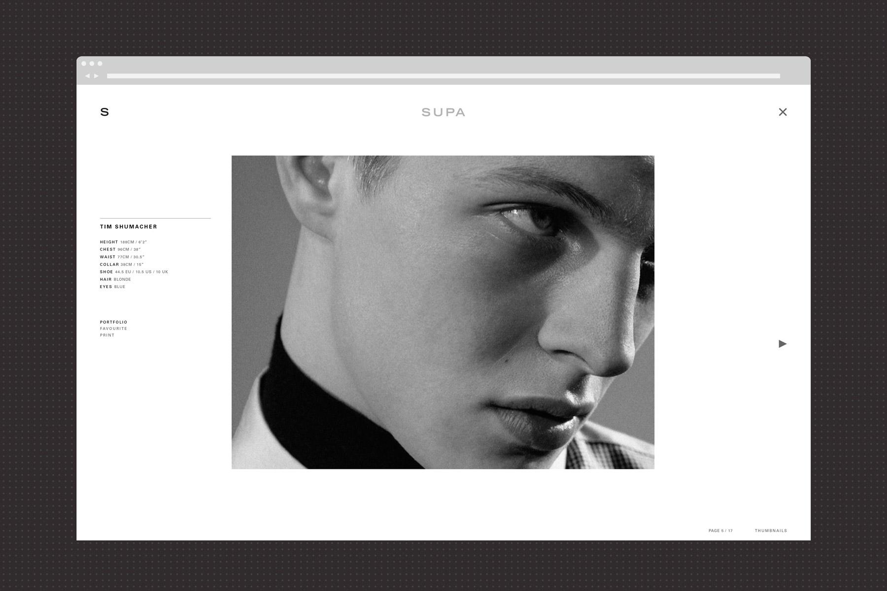 Supa Model Management – Studio AS-CC