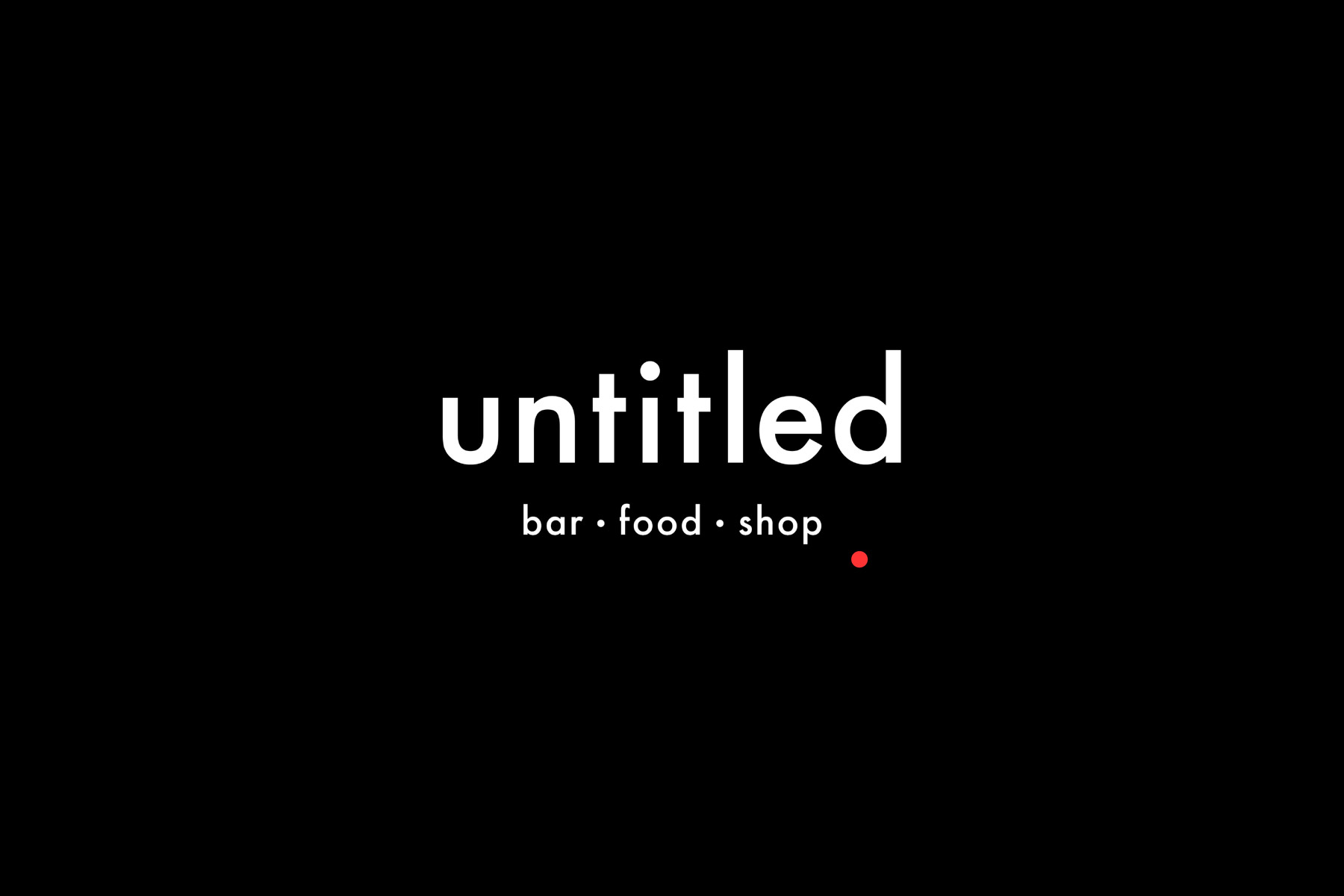 Untitled Bar – Studio AS CC