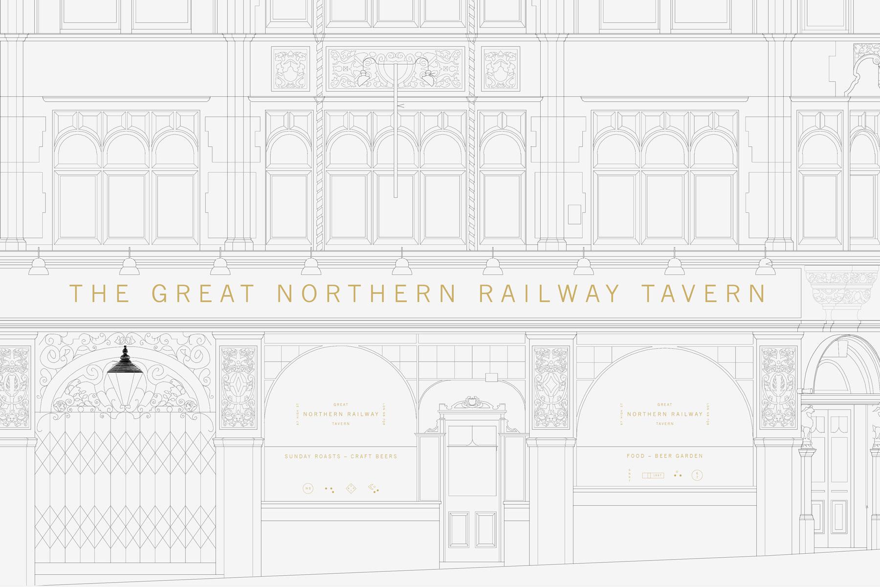 Great Northern Railway Tavern – Studio AS-CC